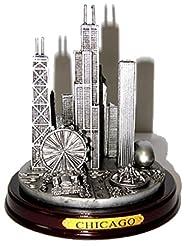 Chicago Paperweight, Chicago Skyline Pew...