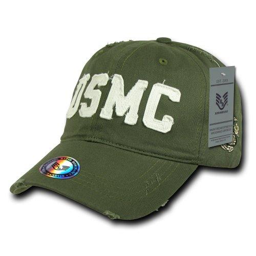 (Rapiddominance USMC Southern Cal Vintage Cap, Olive)