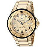 Technomarine Men's 'Manta' Automatic Stainless Steel Casual Watch, Color:Gold-Toned (Model: TM-215095)