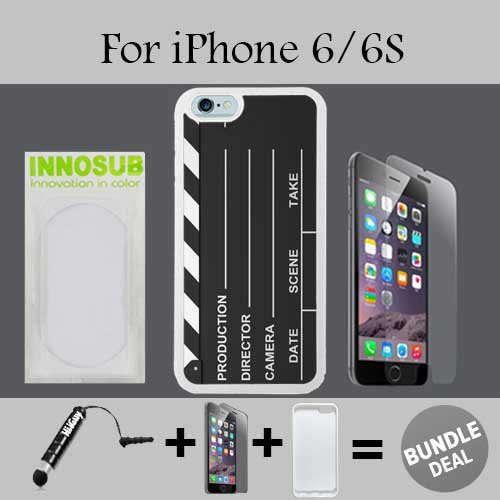 Hollywood Claqueta Basic teléfono celular Carrying cases-cover-skin-rubber-plastic case-innosub-wallet-iphone 6/6s-1750,...
