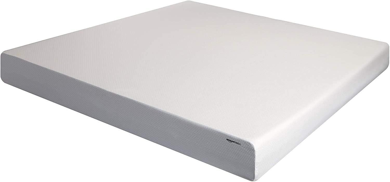 AmazonBasics 10-Inch Memory Foam Mattress - Soft Plush Feel, King