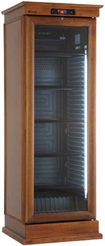 Frigo estático con ventilador ON/OFF revestido de madera roble ...