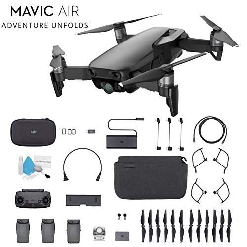 DJI Mavic Air Foldable Quadcopter Fly More Combo (Onyx Black) CP.PT.00000156.01