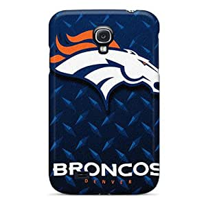Shock Absorption Hard Phone Case For Samsung Galaxy S4 (cUF4489SUGE) Support Personal Customs HD Denver Broncos Pattern