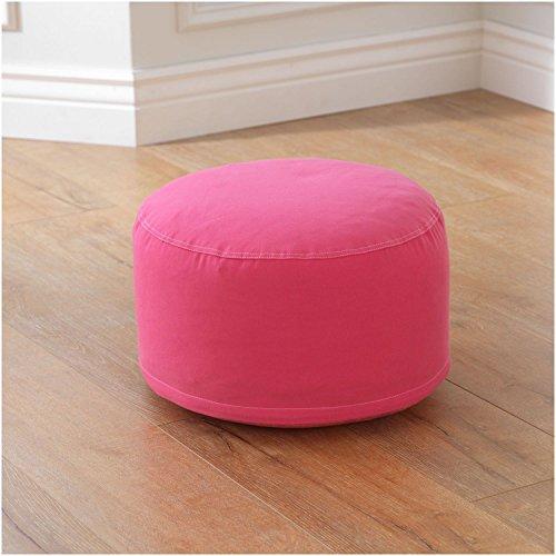 KidKraft Round Pouf, Pink by KidKraft