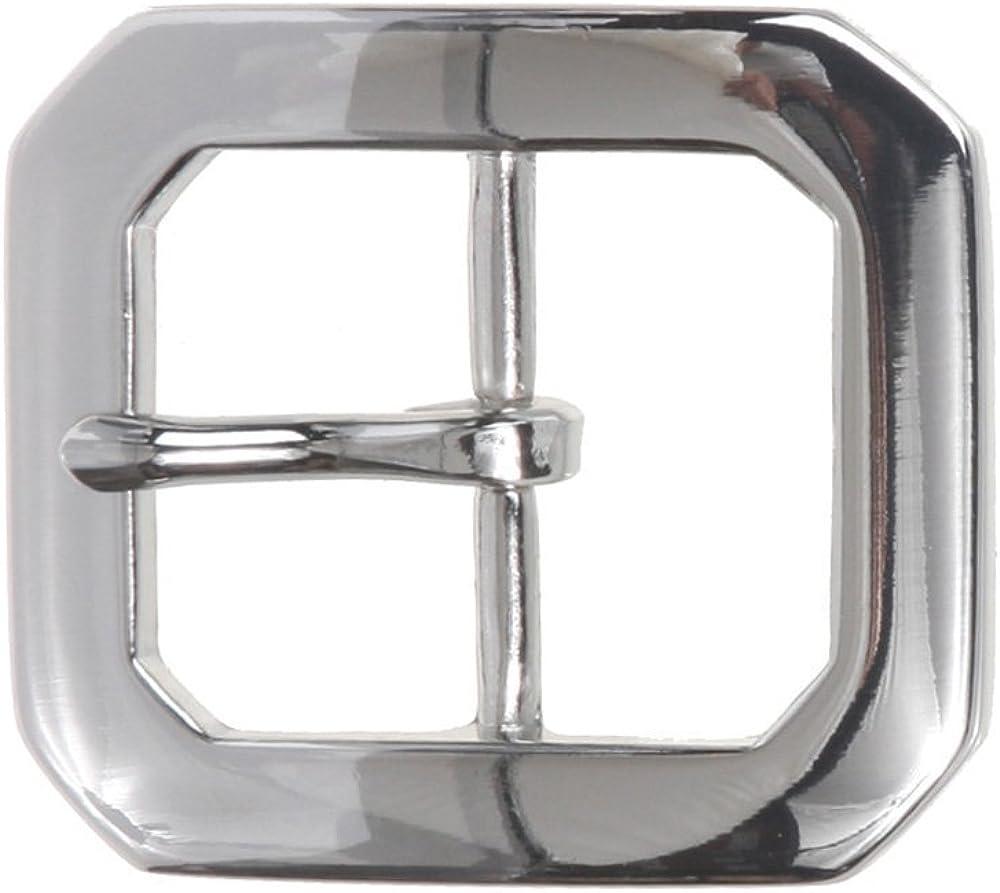 MONIQUE Men Zinc Alloy Nickel Free Single Prong Horseshoe 45mm Belt Buckle