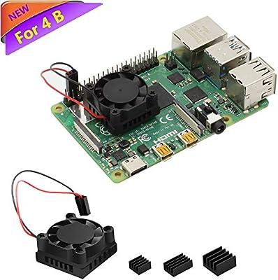 Raspberry Pi Fan, iUniker Raspberry Pi Heatsink Fan Single