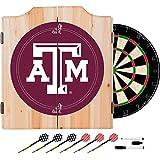 NCAA Texas A&M University Wood Dart Cabinet Set