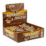 Bonk Breaker Energy Bar, Peanut Butter & Chocolate Chip, 1.76 Oz (12 Count), Gluten Free & Dairy Free