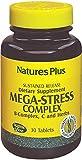 Nature s plus - Mega-stress action prolongée - 30 comprimés - Contre la déprime et le stress