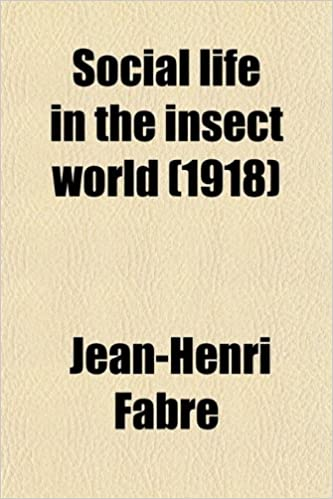 Book Social life in the insect world (1918)