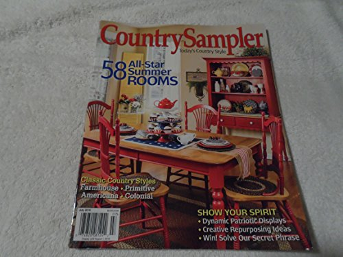 Country Sampler Magazine July 2016 July Sampler