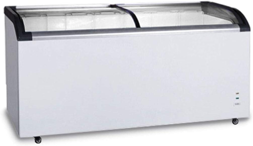 congelador - 445 litros - con puerta corredera de cristal: Amazon ...