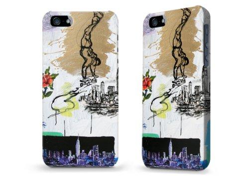 """Hülle / Case / Cover für iPhone 5 und 5s - """"Glide"""" von Tom Christopher"""