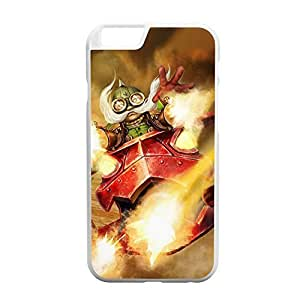 Corki-007 League of Legends LoL case cover for Apple iPhone 6 Plus - Plastic White