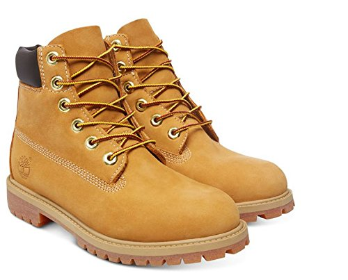 Nubuck In Enfant Premium Jaune Waterproof Mixte 6 wheat Timberland Bottes zUqTTw