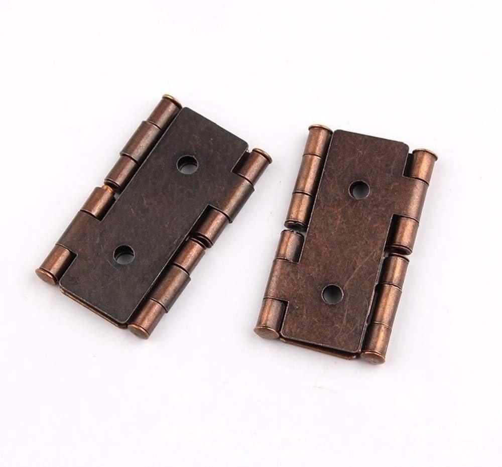 Charni/ères Cabinet De Style R/étro Double Effet Paravent Charni/ère ATEYC 2pcs Charni/ères