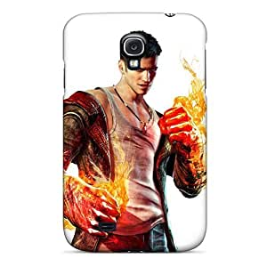 Galaxy Case - Tpu Case Protective For Galaxy S4- Dante Devil May Cry
