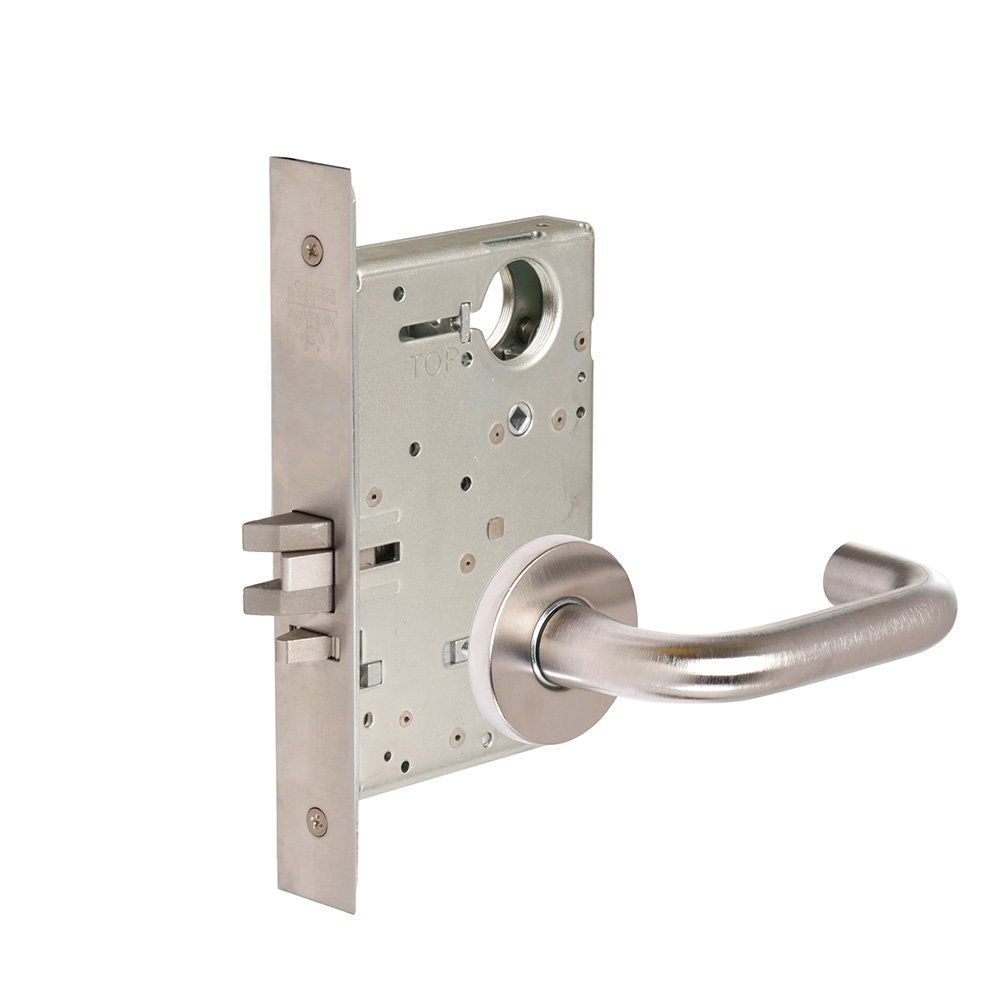 Lever LWA Lustra CORBINRUSSWIN ML2053-LWA-630-LC 630 Satin Steel; Stainless Steel Corbin Russwin Architectural Hardware Entrance//Entry//Office