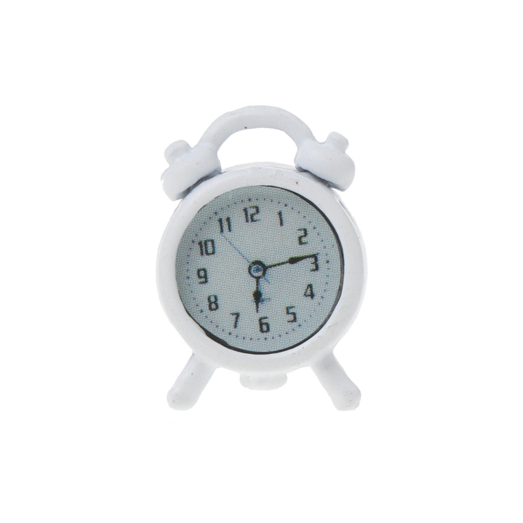 Lamdoo 1:6//1:12 Scale Alarm Clock Dollhouse Decoration Miniature Toy Doll Accessories E