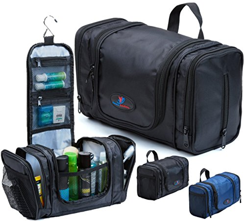 Hanging Toiletry Bag | Large Men's Toiletry Bag | Travel T