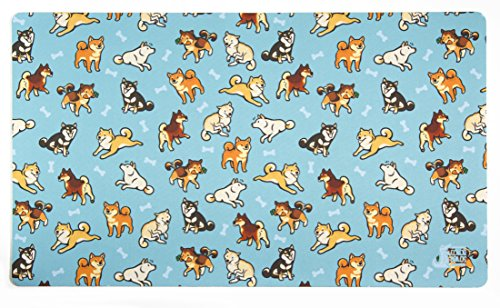 Shibas Card Playmat Inked Gaming - Inked Playmats / Perfect for MtG Pokemon & YuGiOh Magic the Gathering TCG Game Mat by Inked Playmats