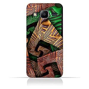 AMC Design Samsung Galaxy J1 mini prime Fractal Art 04 Design Case - Multi Color