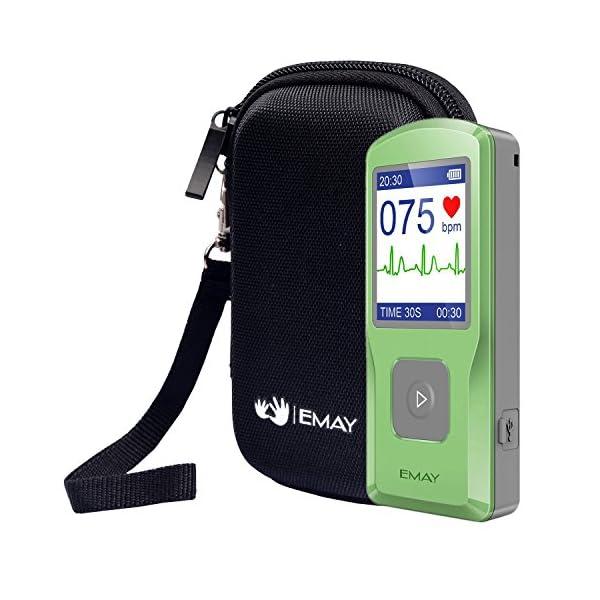 EMAY Funda rígida para EMAY Portable EKG (solo estuche) 2