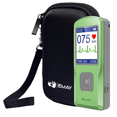 EMAY Hard Case/Carrying Case Portable EKG (Case Only)