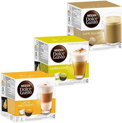 Nescafé Dolce Gusto Cream Set: Latte Macchiato, Cappuccino ...