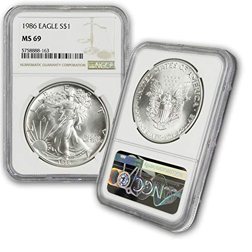 List of the Top 10 1986 silver american eagle ms69 you can buy in 2020