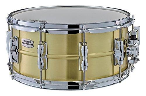 (Yamaha Recording Custom 14x6.5 Brass Snare Drum)