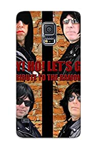 Faddish Phone Hey Ho Let Go A Tribute To The Ramones Case For Galaxy S5 / Perfect Case Cover