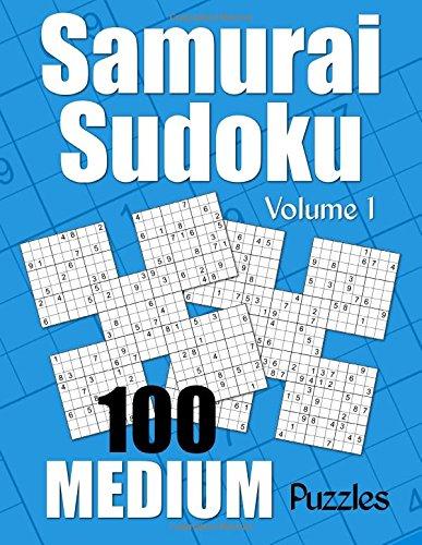 Download Samurai Sudoku Medium Puzzles - Volume 1: 100 Medium Samurai Sudoku Puzzles for the Casual Solver (Number Puzzle Fun) ebook