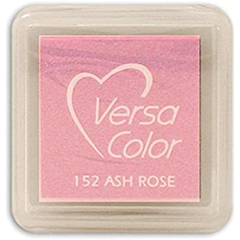 Tsukineko Small-Size VersaColor Ultimate Pigment Inkpad, Ash Rose