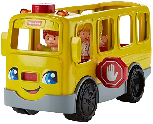 Fisher-Price Little People Sit with Me School Bus Vehicle (New School Buses)