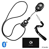 CamKix Camera Shutter Remote Control With Bluetooth® Wireless Technology, Black - Wrist Strap