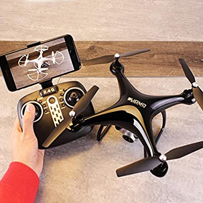 QingFan S8 Quadcopter Drone with HD Camera RTF GPS 4 Channel 2.4GHz 6-Gyro with Altitude Hold Function,Headless Mode and One Key Return Home by QingFan