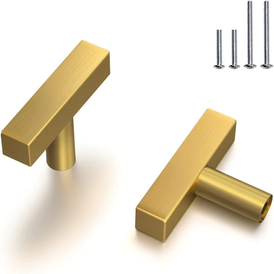 Shop Brass Cabinet Knobs Gold Brushed from Amazon on Openhaus