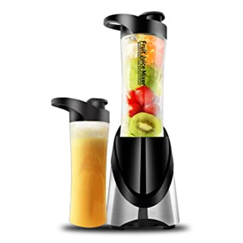 Nclon Eléctrico Portátil Batidora Mini Smoothie maker, Exprimidor Vasos Recargable Vaso Jugo Zumos de fruta Mixer Acero inoxidable Viajes Oficina-A: Amazon. ...