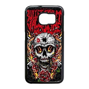 Samsung Galaxy S6 Edge Phone Case Black Bullet For My Valentine VLN1113629
