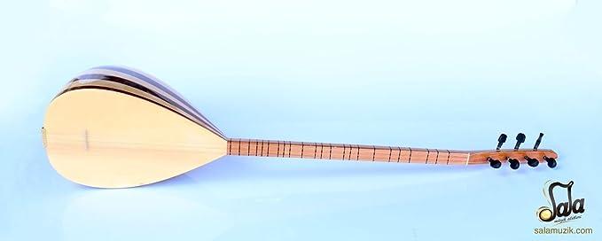 Turco cuello largo caoba Baglama Saz para venta: Amazon.es: Instrumentos musicales