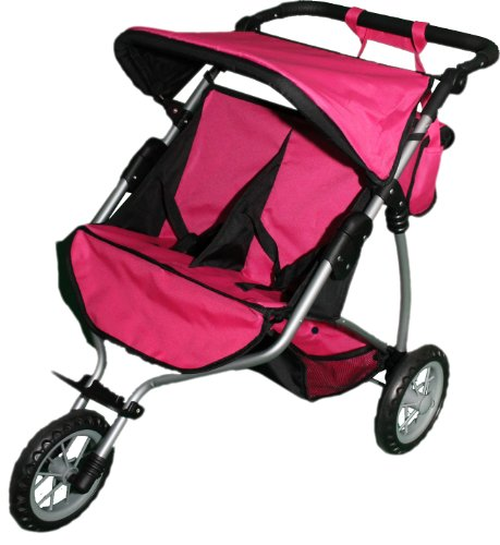Mommy & me Twin Doll Jogger 9367B with Free Sports Bag For Sale