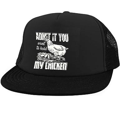 e84e612c8 I Love Chicken Cap, Hold My Chicken District Trucker Hat (District ...