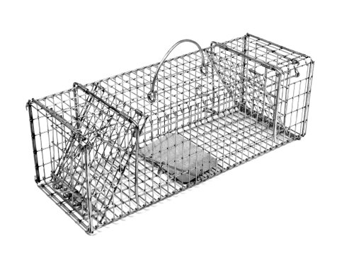 Tomahawk Original Series Collapsible Trap with Two Trap Doors for Chipmunks/Gophers/Rats