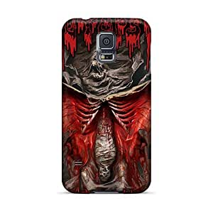 RitaSokul Samsung Galaxy S5 Shock Absorbent Hard Phone Cover Customized Nice Obituary Band Pictures [EGz3085Ujsw]
