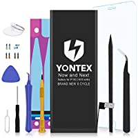 YONTEX Battery Model iP6 0 Cycle - with Replacement...