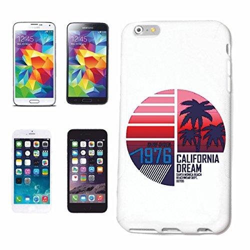 caja del teléfono iPhone 7+ Plus Sueño de California Playa de Santa Mónica TABLAS DE SURF BEACH LONGBOARD olas de surf Beginner Shop Caso duro de la cubierta Teléfono Cubiertas cubierta para el Appl