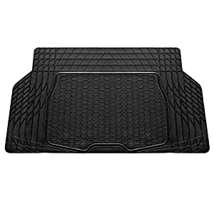 FH Group F16403BLACK Cargo Mat Fits Most Sedans, Coupes and Small SUVs (Semi Custom Trimmable Vinyl Black)
