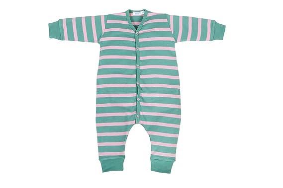 ba362e9e7e Cotton People organic Unisex - Baby Schlafanzug (Einteiler) Strampler ohne  Fuß, Gr.